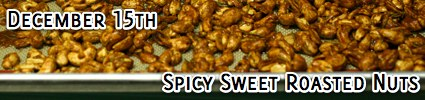 spicy sweet roasted nuts