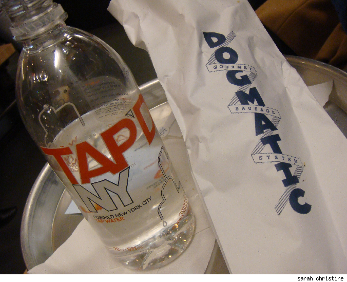 Would you buy bottled tap water? Tap'd NY is a new bottled water company located in Manhattan trying to spread the importance of staying local.