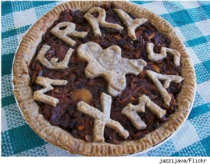apple mince x-mas pie