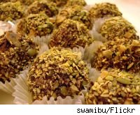 Pistachio Chocolate Balls