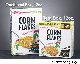 Corn Flakes boxes