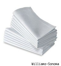 Image of white napkins