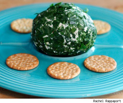 smoked salmon cheese ball from Coconut & Lime