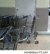 Albertson's shopping carts