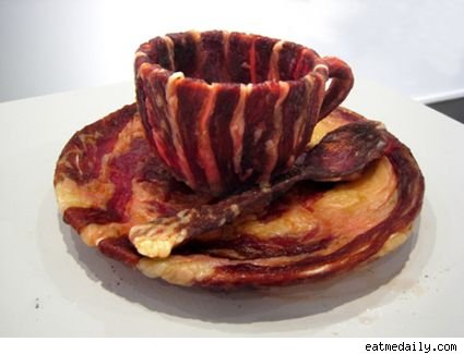 bacon teacup