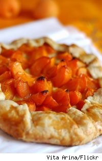 Apricot-Almond Crostata