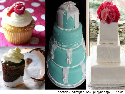 Did you offer wedding cake or a dessert bar to your guests? Share your