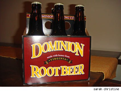 Old Dominion Root Beer made in Virginia.