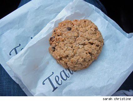 Salty Oat Cookies from Teaism in downtown Washington D.C.