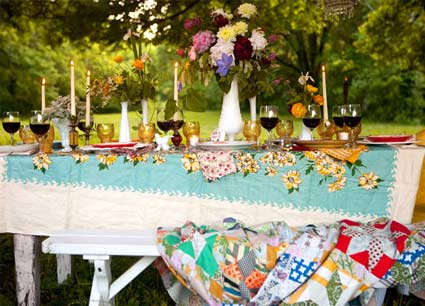 A Backyard Wedding Courtesy of Style Me Pretty