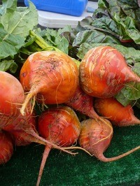 orange beets