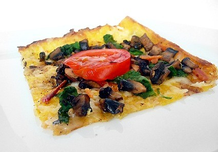 polenta pizza