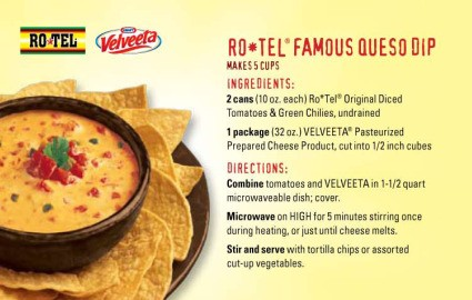 ro tel queso dip recipe