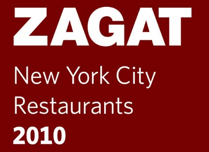 zagat new york city restaurants 2010 survey
