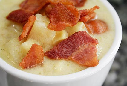 bacon corn chowder feast your eyes