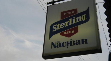The Nachbar sign