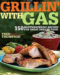 grillin with gas book cover