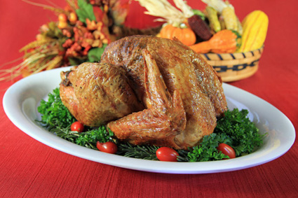 Hern-Roasted Pastured Thanksgiving Turkey