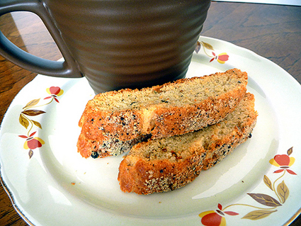 Parmesan Brown Pepper Biscotti