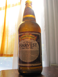 Sierra Nevada Harvest Wet Hop Ale