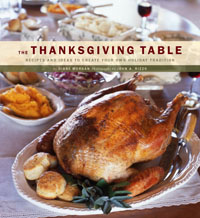 The Thanksgiving Table cookbook cover