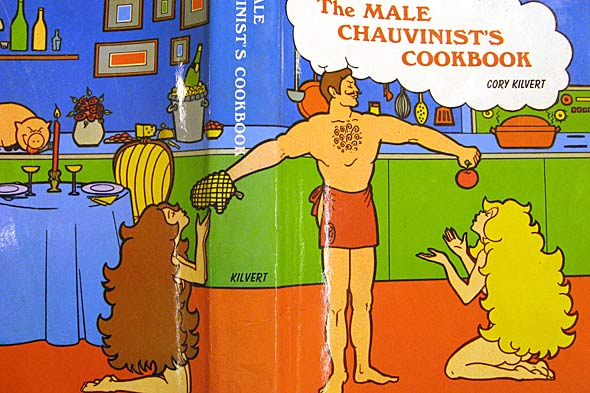 male chauvinist's cookbook full cover