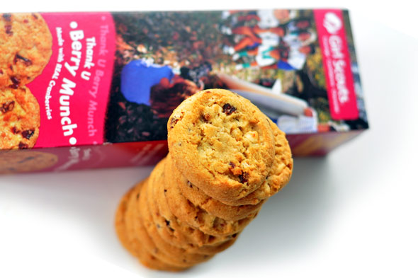 Is the New Girl Scout Cookie 'Berry' Delicious? - Slashfood