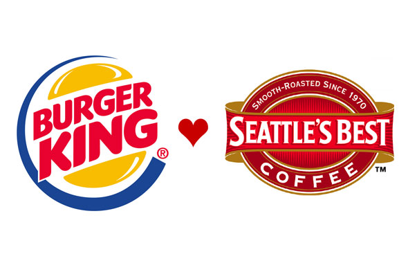 Burger King loves Seattle's Best Coffee