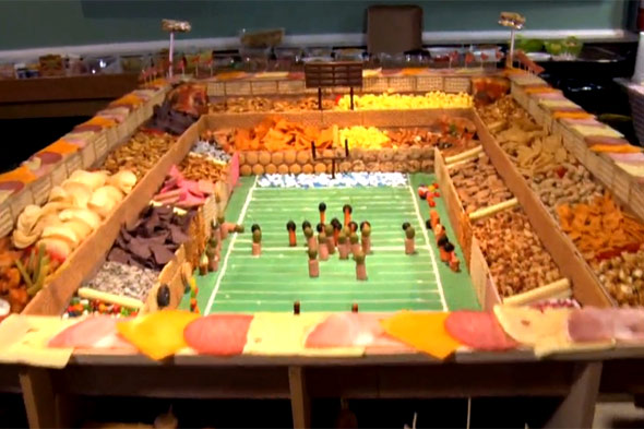 snack football stadium