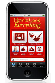 how to cook everything ipone app