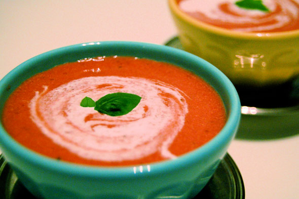 strawberry lavender soup