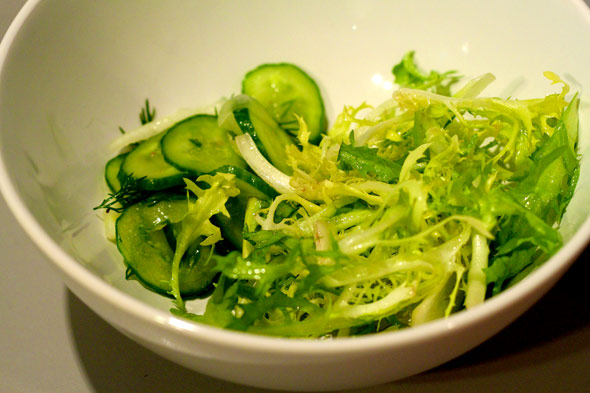 frisee fennel salad
