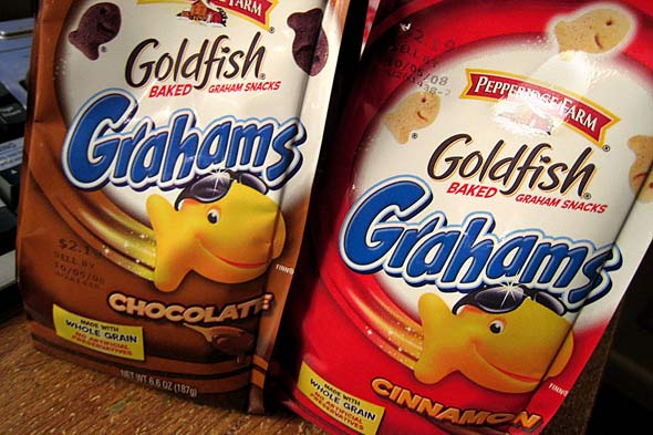 goldfish crackers flavors. Goldfish crackers now have