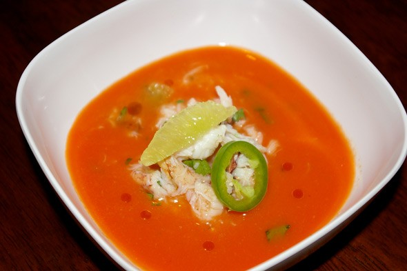 Thai-Spiced Melon Soup