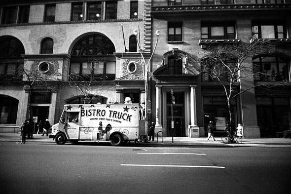 bistro truck on the street nyc