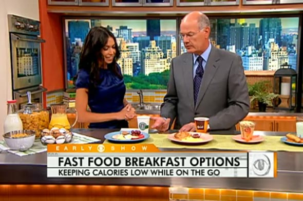 cbs news healthy breakfast on the go