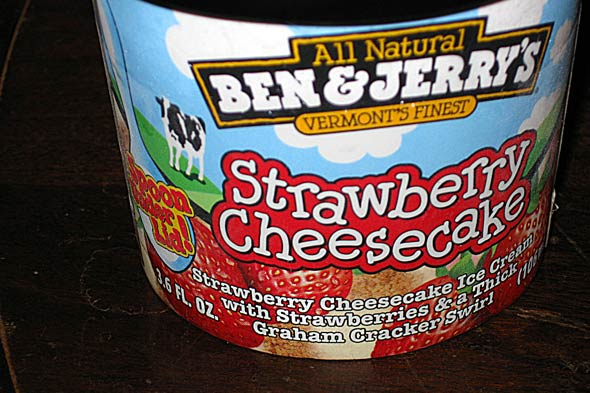 Ben &amp; Jerry's ice cream