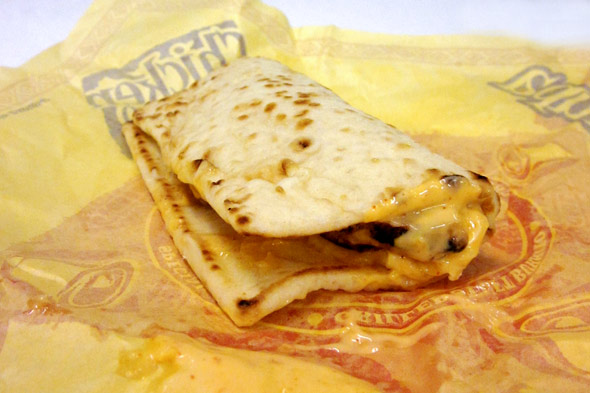 Taco Bell Flatbread Chicken Sandwich