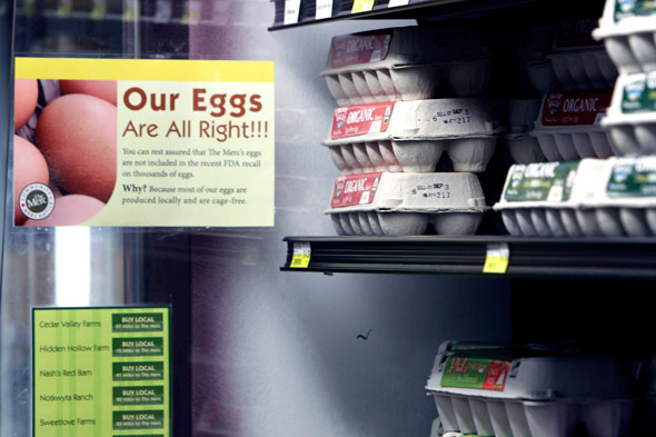 eggs safe to eat at the gorcery store