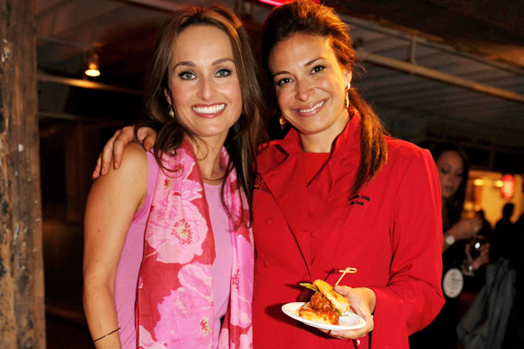 Giada De Laurentis and Donatella Arpaia