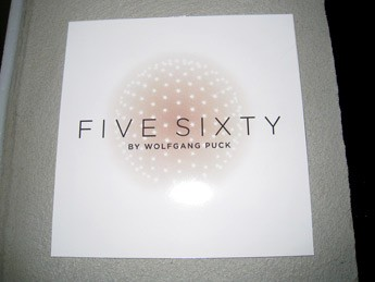 Five Sixty Restaurant in Reunion Tower