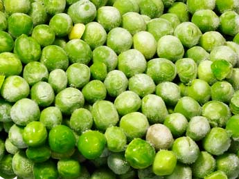 frozen peas