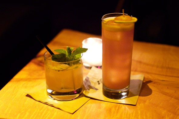 Aromatic cocktails at Pegu Club