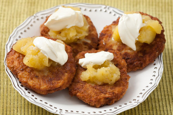Hanukkah Latke recipes