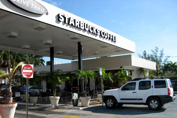 Starbucks Drive-thru