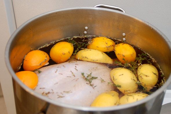 Turkey Brining 101 - How to Brine That Bird - Slashfood