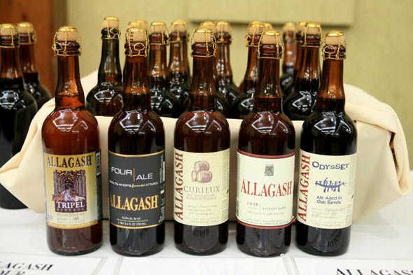 Allagash beers at Big Beer Festival