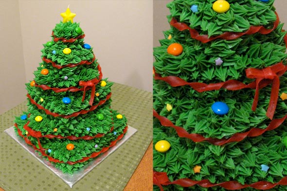 nigella christmas tree cake