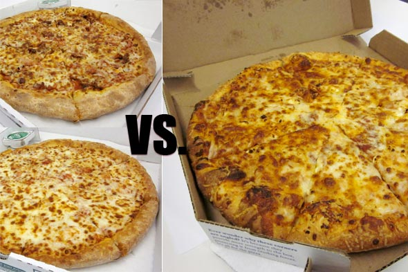 New Papa Johns Double Bacon & Cheese VS. Do... | the popurls® news ...