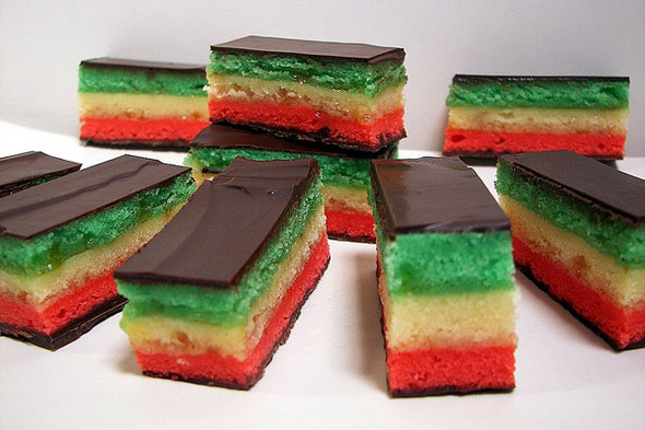 rainbow cookies
